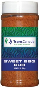 R16B - Sweet BBQ Dry Rub (pint) - Energy - TransCanada