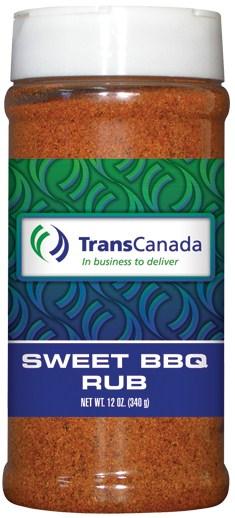 R16B - Sweet BBQ Dry Rub (pint) - Energy - TransCanada