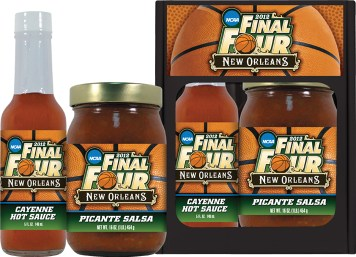 SP - Snack Pack w/Hot Sauce - New Orleans Final Four