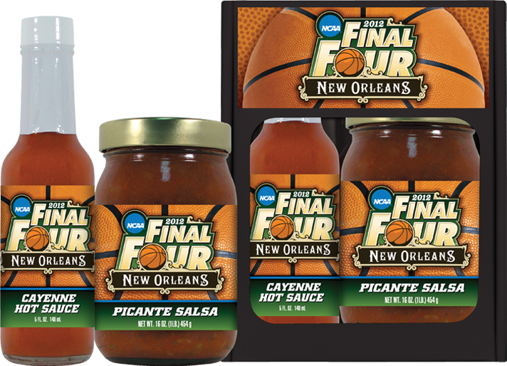 SP - Snack Pack w/Hot Sauce - Sports - Finial Four