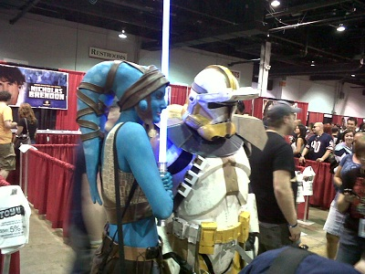 More amazing amateur costumes.