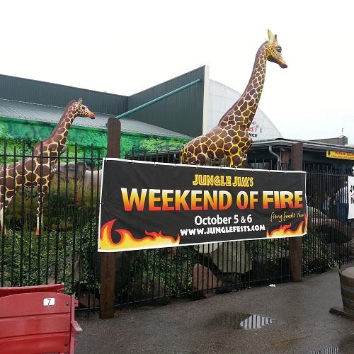 Jungle Jim's Weekend of Fire 2013