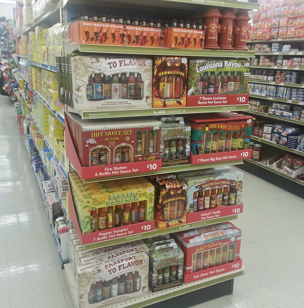Big Lots' Hot Sauce Collections
