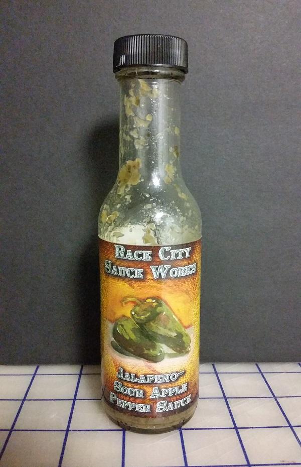 Race City Sauce Works Jalapeño-Sour Apple Pepper Sauce