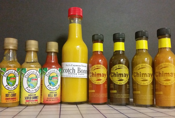 Jamaica, Grand Cayman Island and Cozumel Hot Sauces