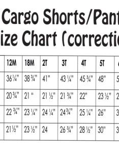 Cargo short pant size correction sheet copy also pattern chart hot scott rh hotscottpatterns typepad