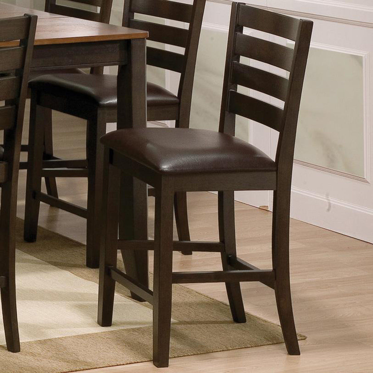Bench Chairs 8pc Couter Height Table 6 Chairs Bench Uph Hot Sectionals