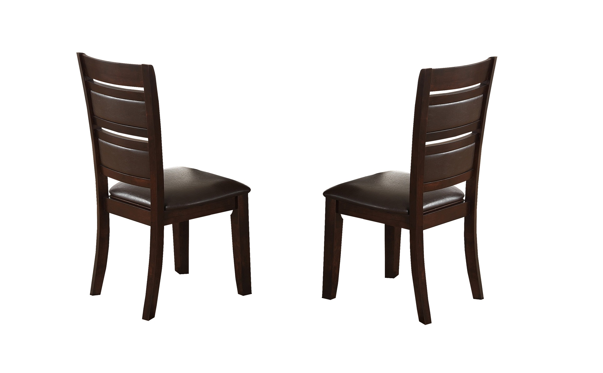 Cherry Chairs Elegant Dining Cherry Finish 2pc Set Chair Hot Sectionals