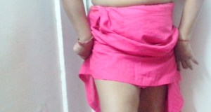 Homely desi wife saree petticoat removing nude
