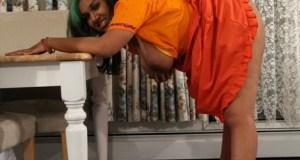 Telugu housewives Saree stripping