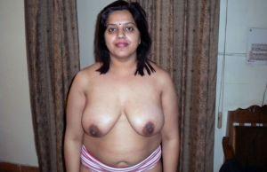Local aunties removing bra