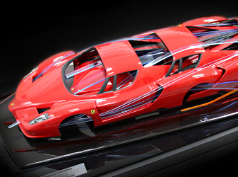 Ferrari Enzo Automotive Sculpture