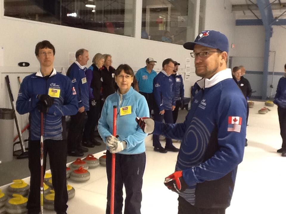 Brian Chick and Campers - Hot Shot Curling Camp