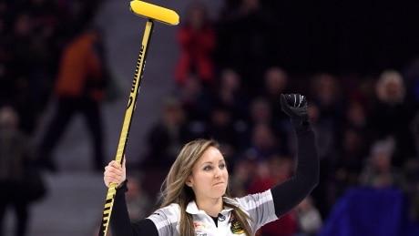 Rachel Holman Defeating Jennifer Jones - Hot Shots Curling Camp