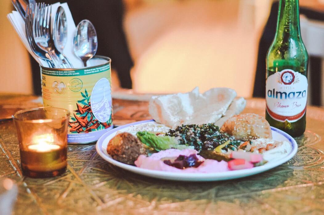 COMPTOIR LIBANAIS UTRECHT: MIDDEN-OOSTERS HOLIDAY FOOD