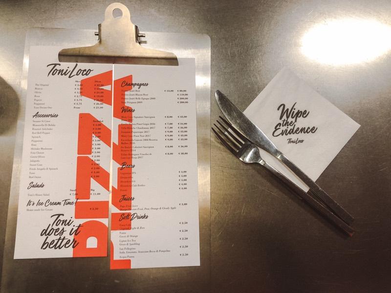 TONI LOCO AMSTERDAM: PIZZA ZOALS JE DIE ALLEEN IN NEW YORK KUNT VINDEN