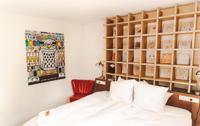 MARY K HOTEL UTRECHT: KNUS ARTISTIEK HOTEL AAN DE OUDEGRACHT