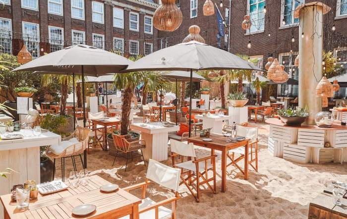Sofitel Legend The Grand Amsterdam: luxe pop-up strand in hartje stad