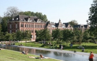 View on Westerpark Amsterdam