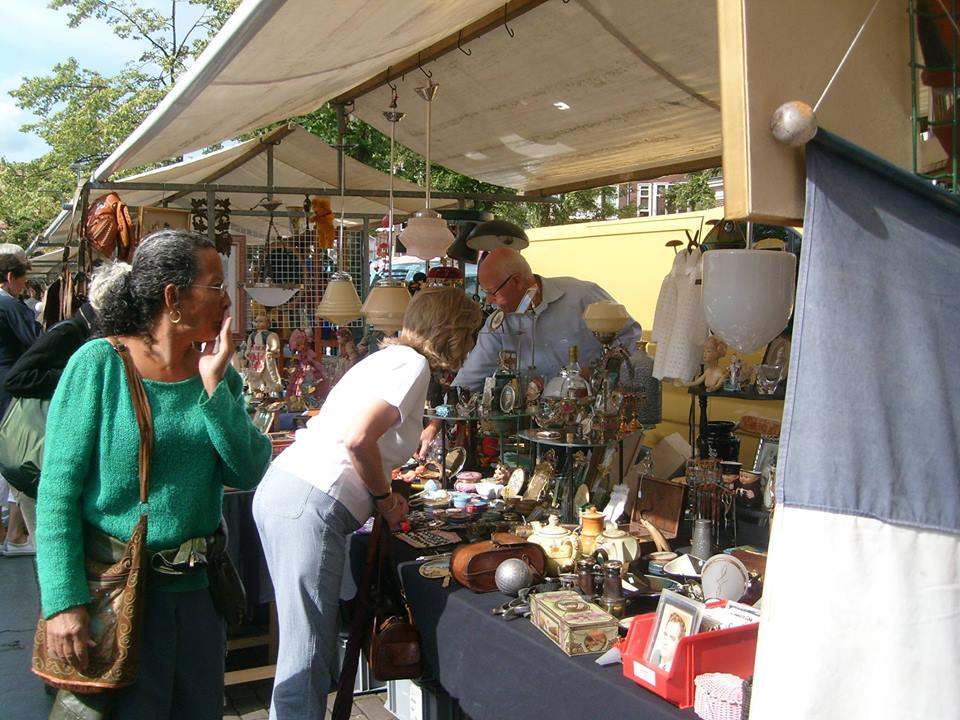 Flea market in Amsterdam