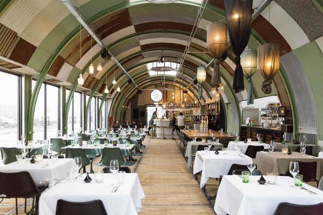 French bistro classics at restaurant Hangar