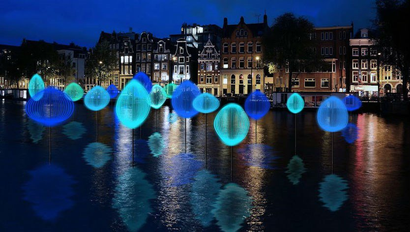 Almost that time of the year: Amsterdam Light Festival