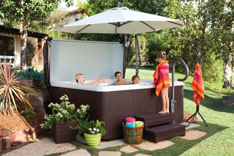 best placement for your hot tub
