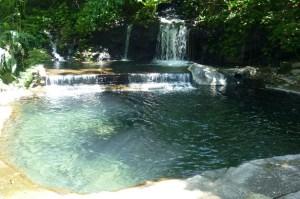Costa Rica Hot Springs Waterfall