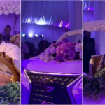 SHOCKING VIDEO: Ghanaian Couple Set Record With Biggest Car Wedding Cake Shaped Like V8 Car.