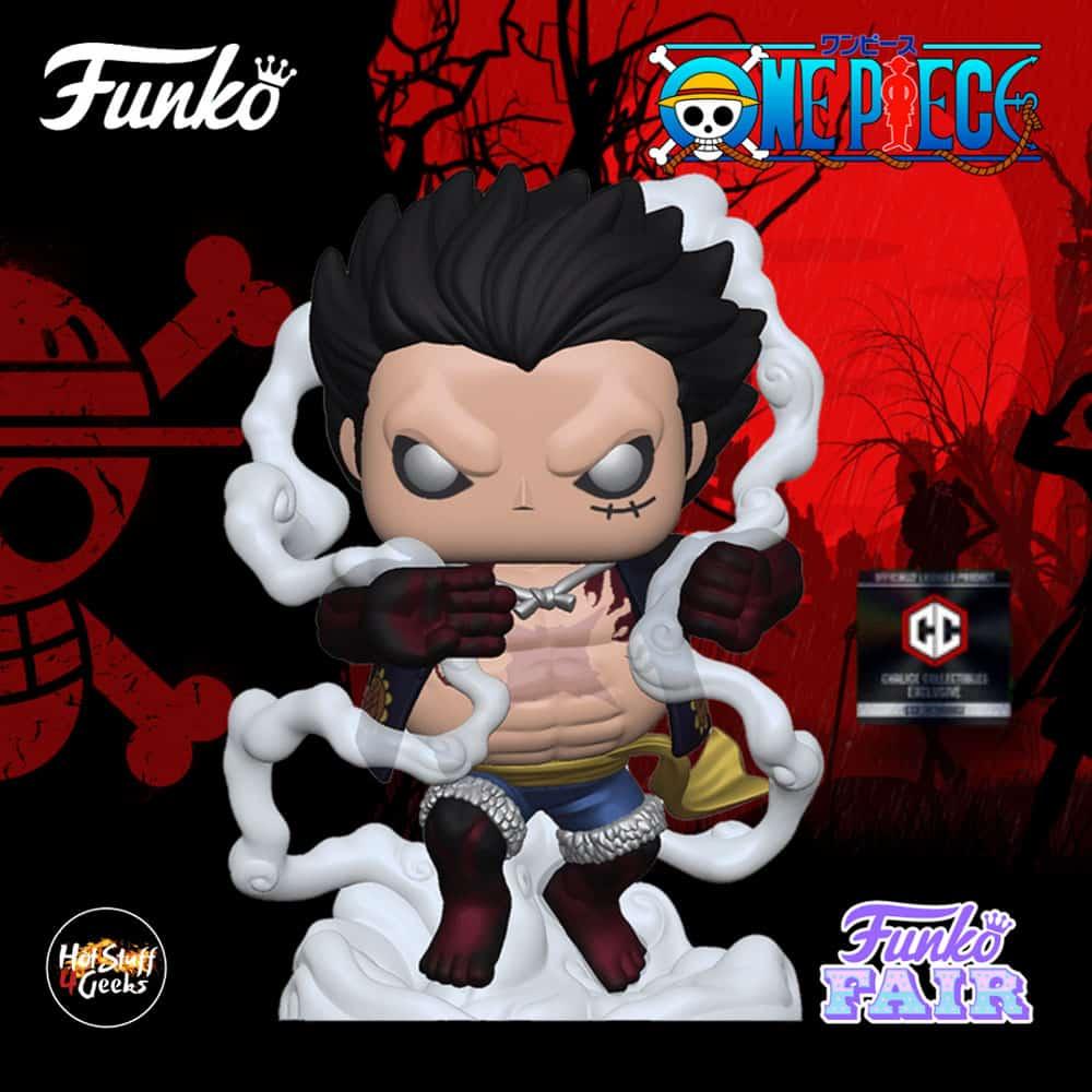 2021 NEW One Piece - Luffy (Gear 4th) Funko Pop!