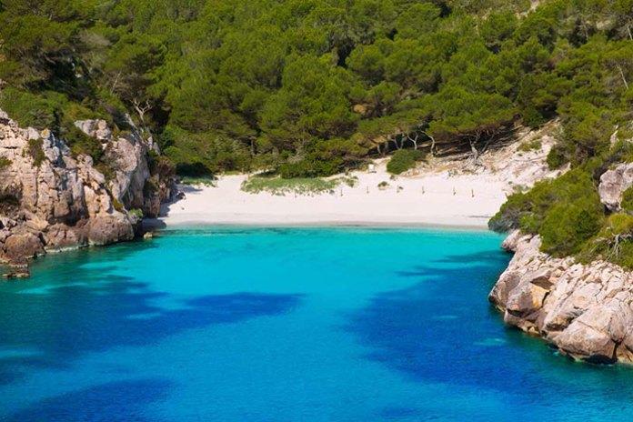 Playa-Cala-Macarelleta playas europeas HotSweetHome