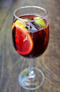 the red one sangria at hot tamale darwin