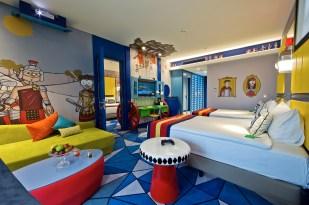 Land of Legends Antalya Turkey - Children Hotel Kingdom - Family Room