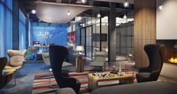 Moxy Hotel - Lobby