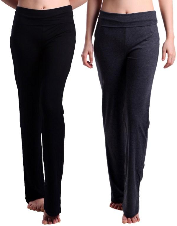 950aae4e64e774 ... Women' Maternity Yoga Pants Foldover Pregnancy Leggings 2 ...