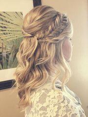 charming bridesmaid hairstyles