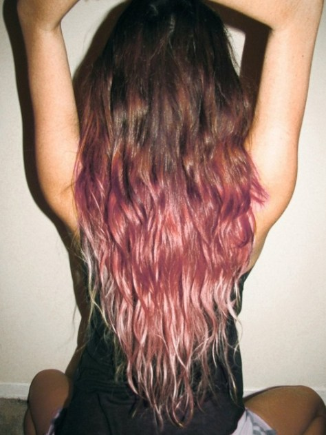 brown-to-pink-ombre-hair