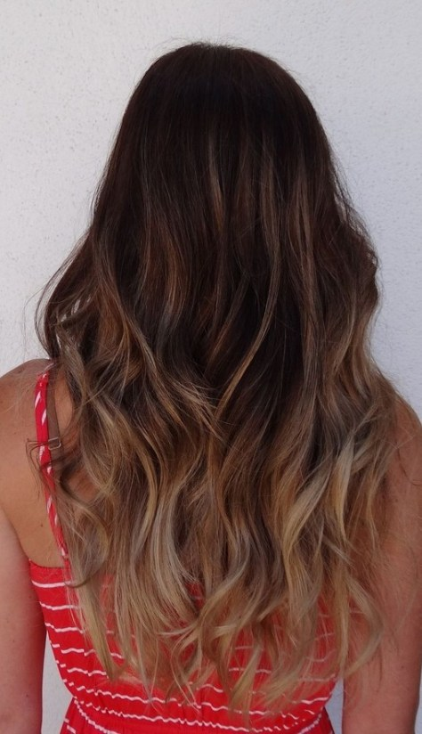 dark-brown-to-light-brown-ombre-hair-pinterest