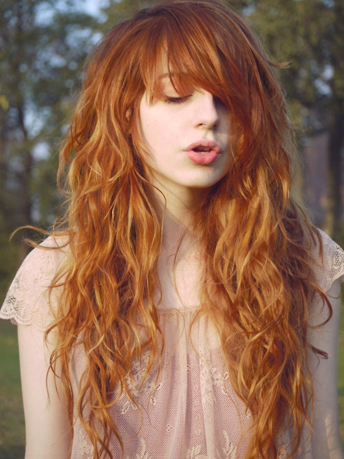 long-copper-red-hair
