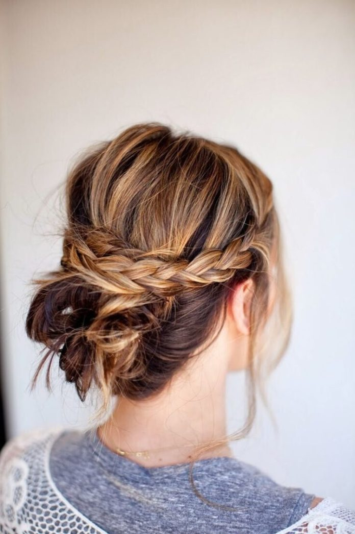 35 elegant wedding hairstyles for medium hair haircuts whether youre going for a classic bob natural curls a loose updo or a half up half down look there are lot of ways to style mid length hair solutioingenieria Choice Image