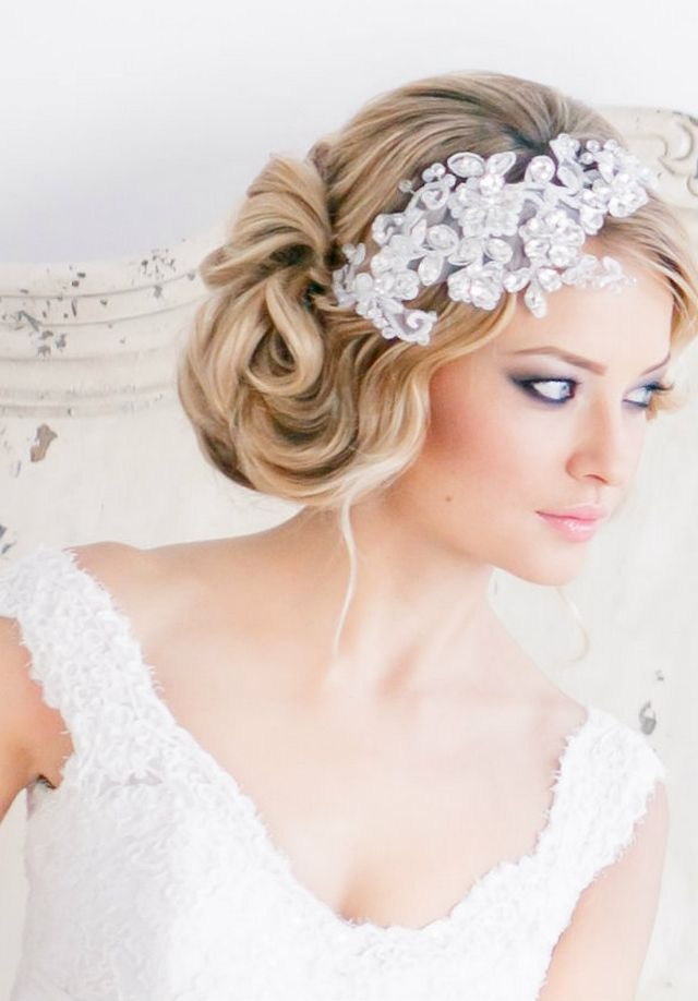 35 Elegant Wedding Hairstyles For Medium Hair - Haircuts ...