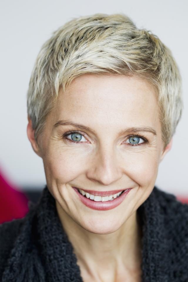 Short Blonde and Short pixie