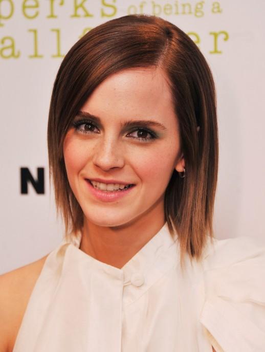 emma-watson-short-straight-hairstyle