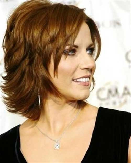 layered-bob-hairstyle-for-women-over-50