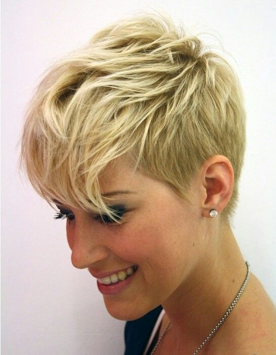 messy-short-haircut-for-women