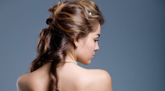 Trendy Homecoming Hairstyle