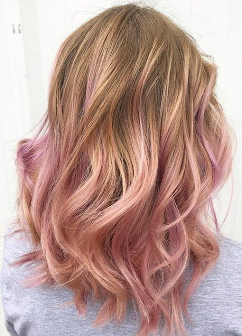 Rose Gold Blonde
