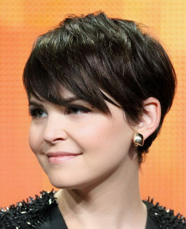 Pixie Cut with Side Bangs