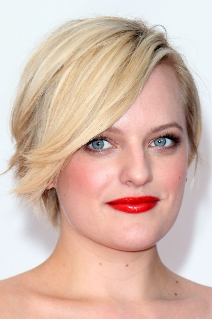 Blonde Cropped Pixie