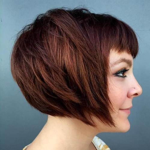 Chestnut Brown Bob